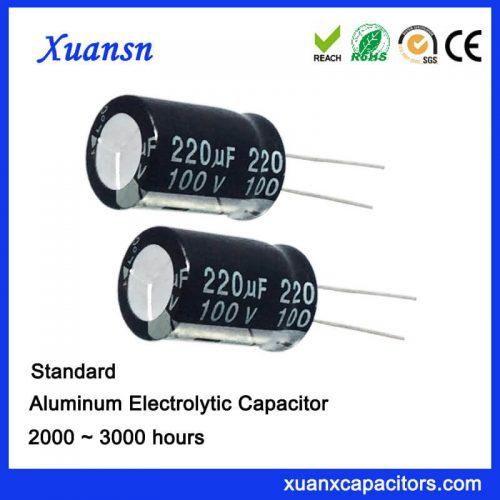 220UF Electrolytic Capacitor