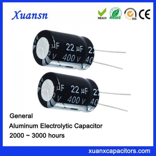 22uf 400v Electrolytic Capacitor