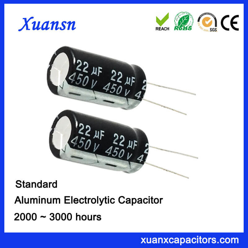 high voltage 450v electrolytic capacitors