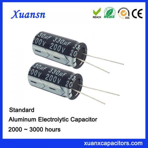 200V 330UF Aluminum Electrolytic Capacitor