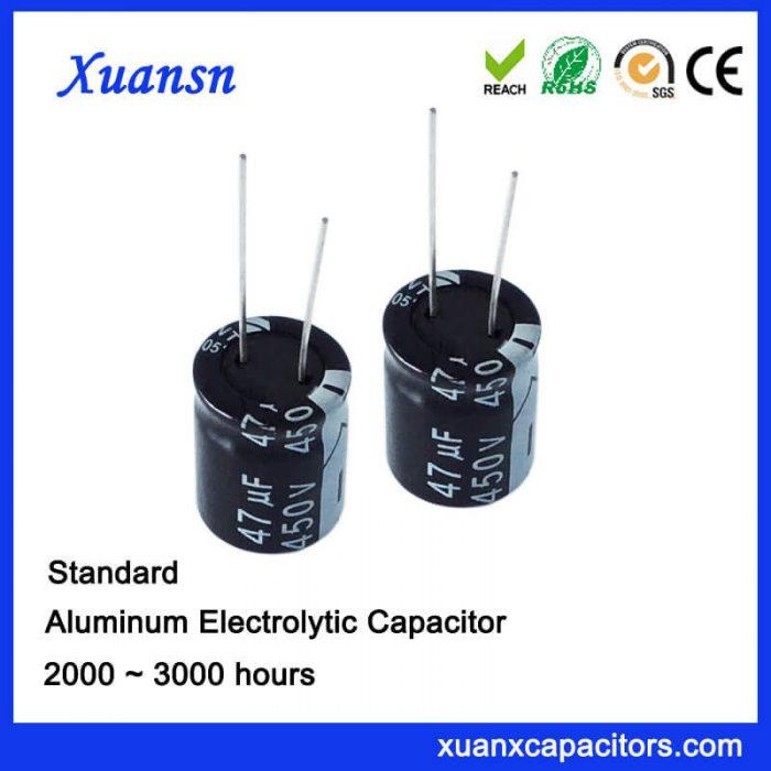 Standard 47uf 450v Electrolytic Capacitor