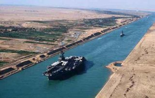 blockage of the Suez Canal