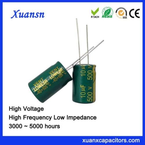 high voltage capacitor 10UF500V