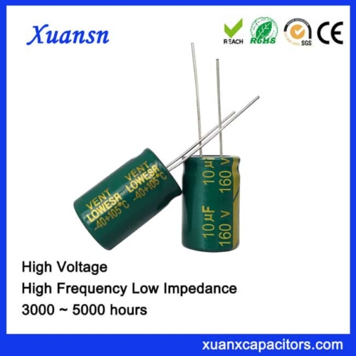 Iran best-selling electrolytic capacitor 10uf160v