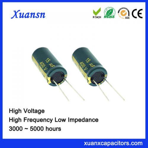 capacitors in parallel 15UF400V