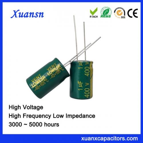 1uf 400v voltage capacitor