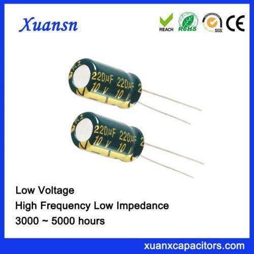 220UF 10V Electrolytic Capacitor
