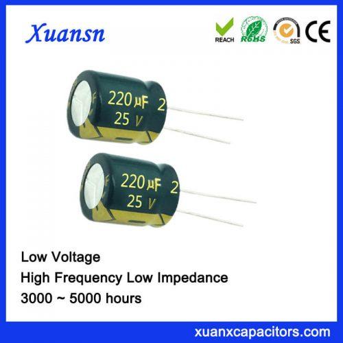 220UF 25V Aluminum Electrolytic Capacitor