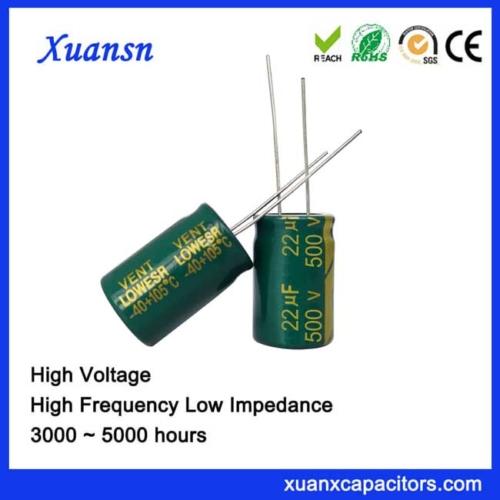 22UF500V Capacitor