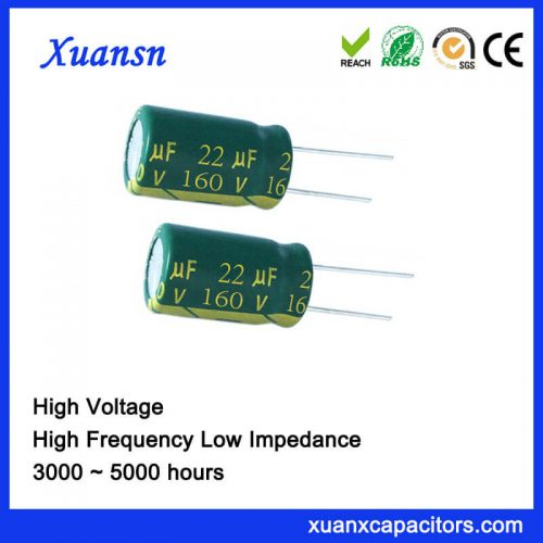 22uf electrolytic capacitor