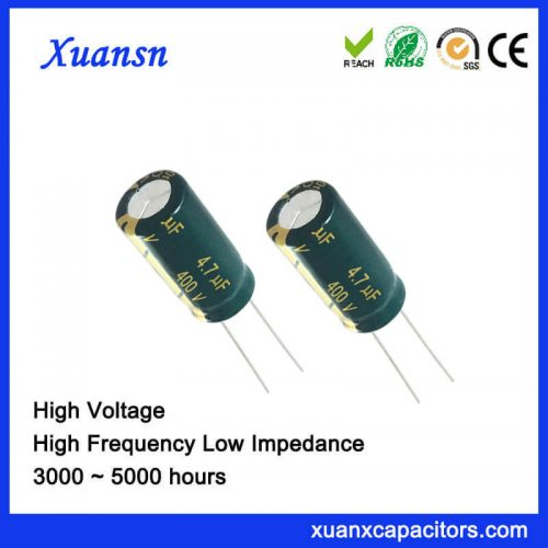 New Original 4.7 UF400V Electrolytic Capacitor