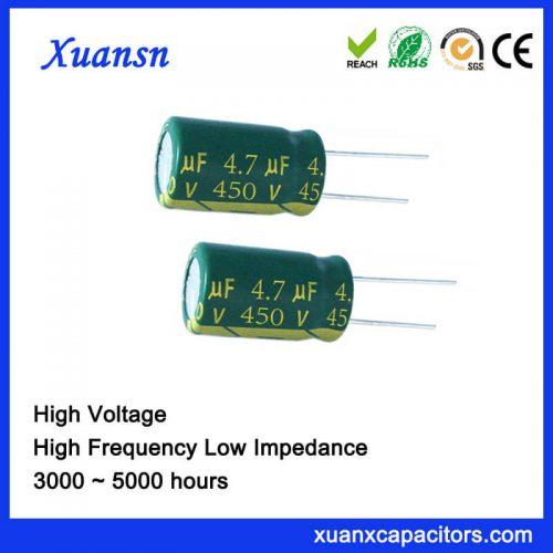 450V 4.7UF High Voltage Capacitor