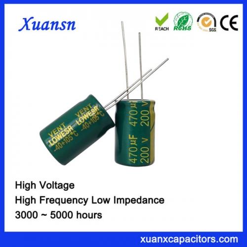 Electrolytic capacitor 470UF200V