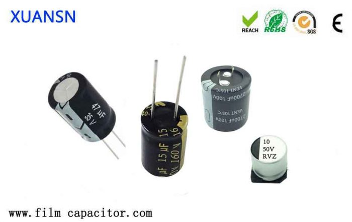 Commonly used capacitors