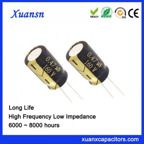 0.47UF 160V Aluminum Electrolytic Capacitor