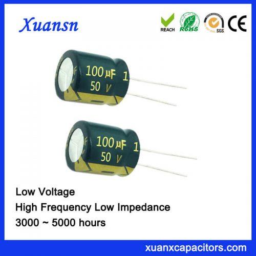 100uf 50v electrolytic capacitor