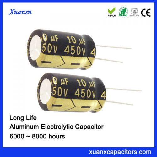 10UF 450V High Voltage Capacitor