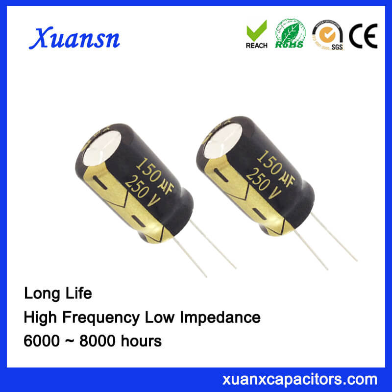 Electronic Component 150UF 250V