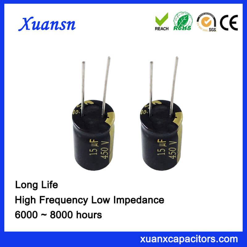 electrolytic capacitor high voltage isolation