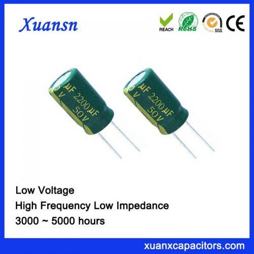 2200uf 50v electrolytic capacitor