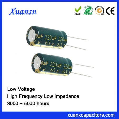 63v 220uf electrolytic capacitor
