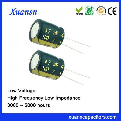 airconditioner capacitor 4.7UF100V
