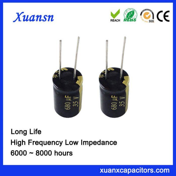 680uf 35v electrolytic capacitor