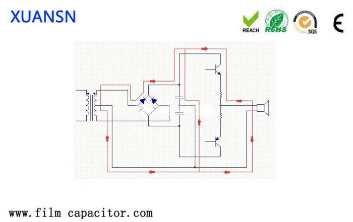 power supply filter capacitor