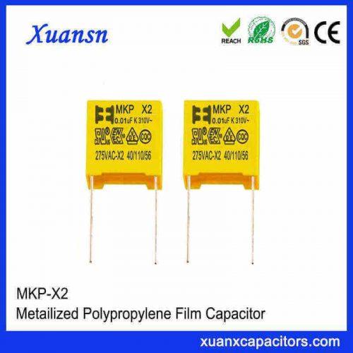 Best X2 capacitor 0.01UF