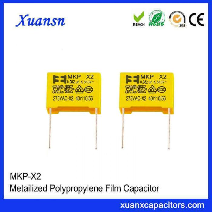 0.082UF x2 safety capacitor