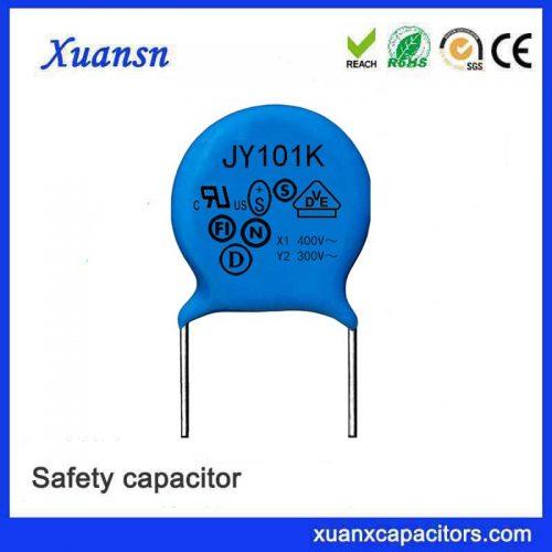 capacitor y 100PF