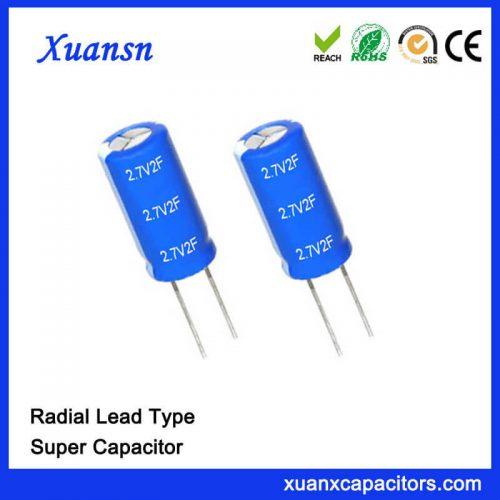 2.7V 1F Capacitor