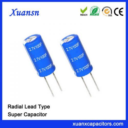 2.7 v 100f capacitor
