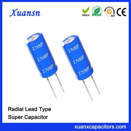 2.7V super farad capacitor