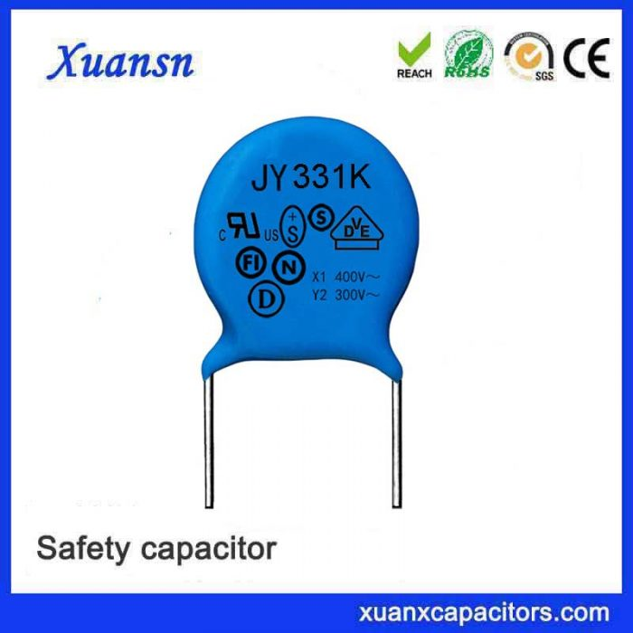 AC safety capacitor