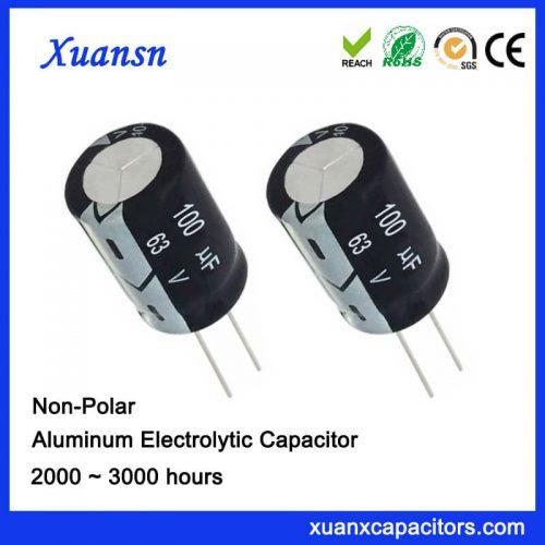 100uf Non Polarized Capacitor