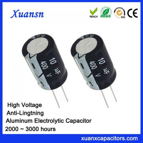 10uf 400v Electrolytic Capacitors