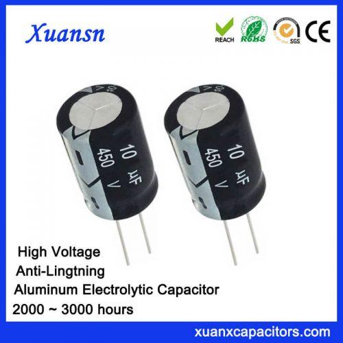 lightning protection capacitor 10UF450V