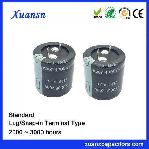 1200uf 200v capacitor