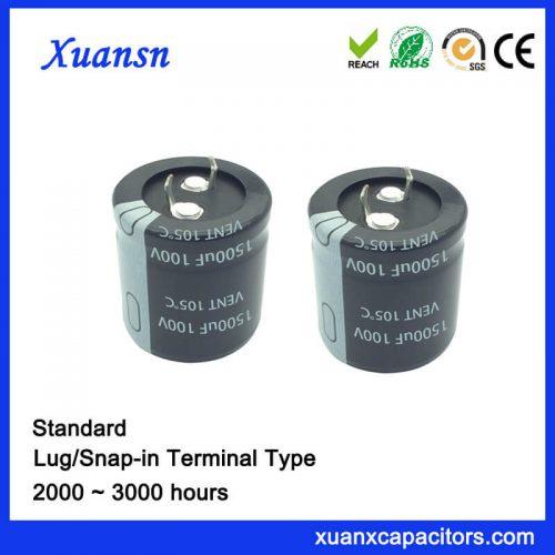 1500UF 100v Aluminum Eelctrolytic Capacitor