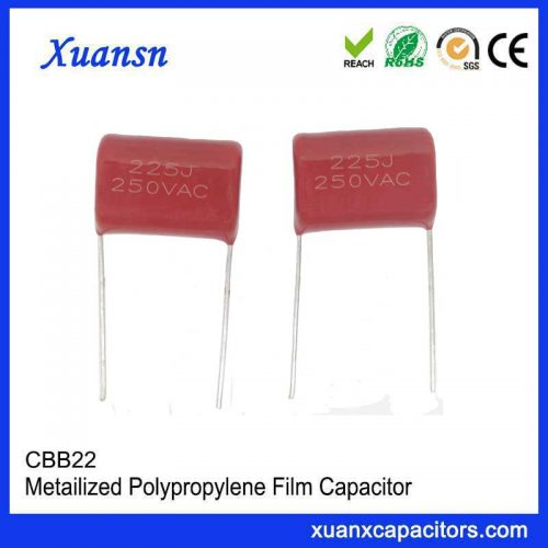 AC capacitor 250VAC225j