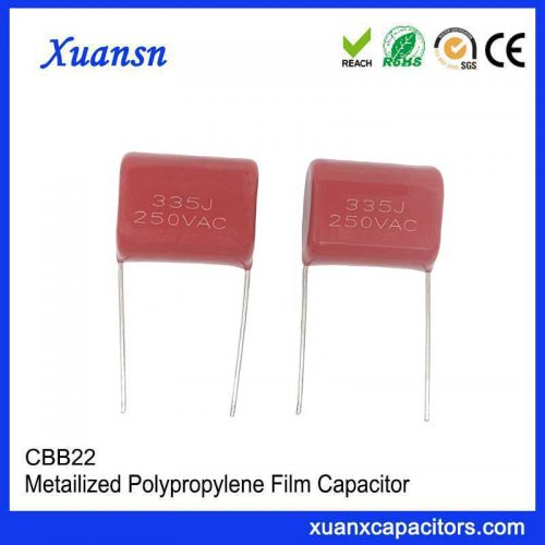 AC capacitor 250VAC335j