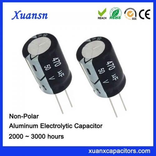 non polarised capacitor