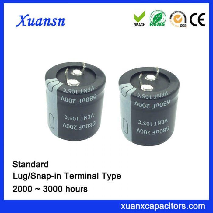 680uf 200v capacitor