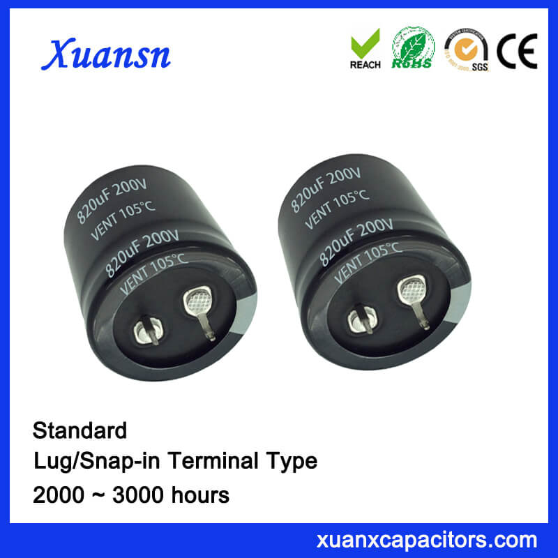 820uf 200v capacitor
