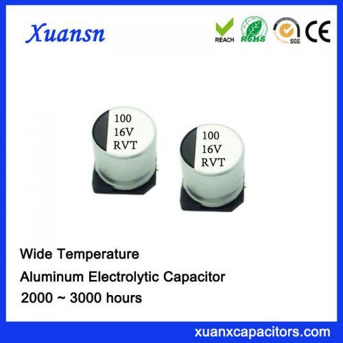 100UF 16V SMD Standard Electrolytic Capacitor