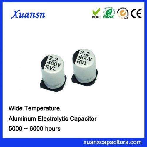 Chip 2.2UF 400V Aluminum Electrolytic Capacitor