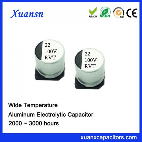 chip aluminum electrolytic capacitor 22uf100v